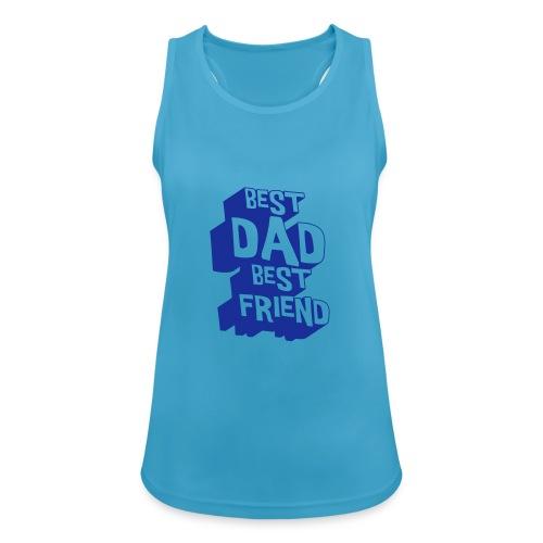 El mejor papá El mejor amigo - Women's Breathable Tank Top