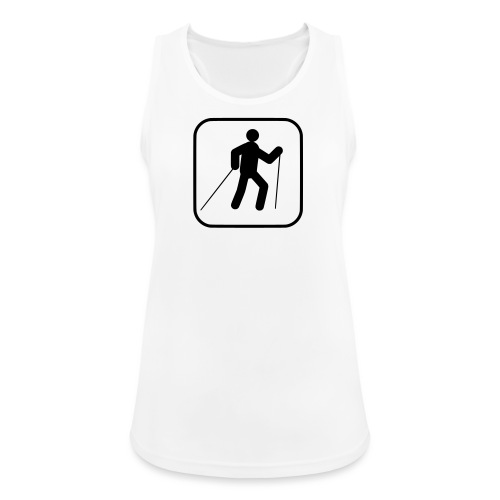 Walking Symbol - Frauen Tank Top atmungsaktiv