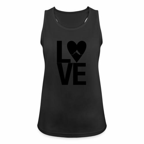Mountain Love - Frauen Tank Top atmungsaktiv