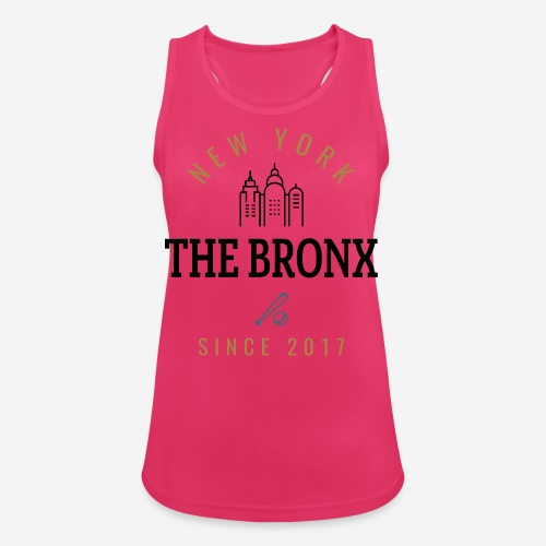 NEW YORK - THEBRONX - Top da donna traspirante