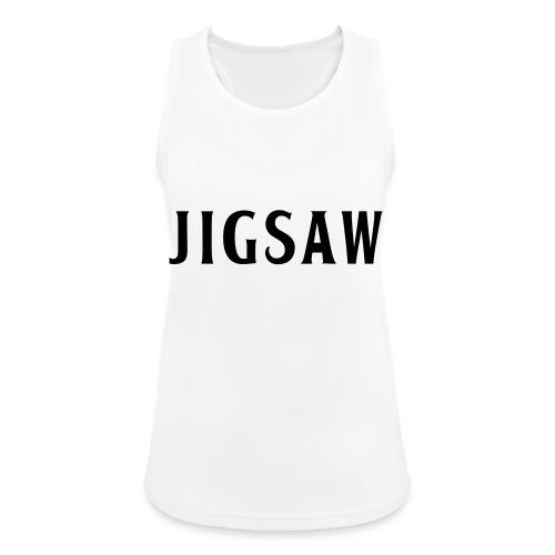 JigSaw Black - Women's Breathable Tank Top
