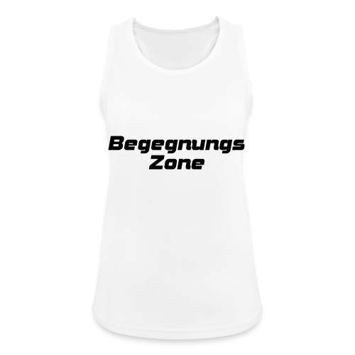 Begegnungszone - Frauen Tank Top atmungsaktiv