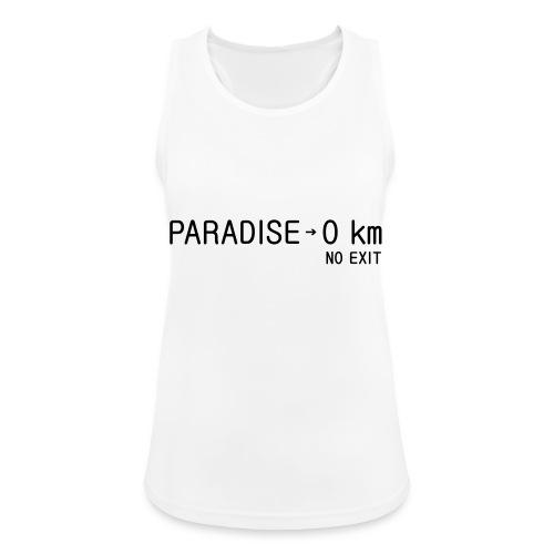 paradise0km - Frauen Tank Top atmungsaktiv