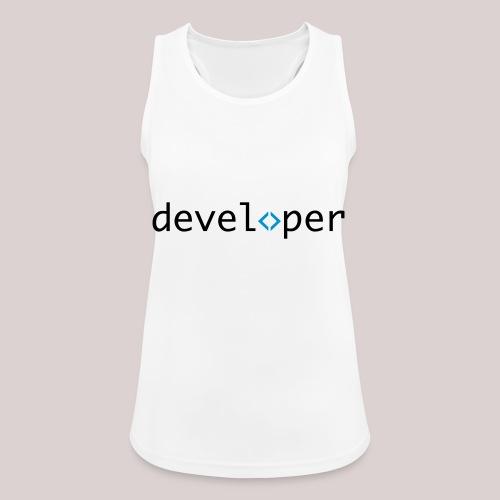 developer, coder, geek, hipster, nerd - Frauen Tank Top atmungsaktiv