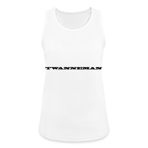 tmantxt - Vrouwen tanktop ademend actief