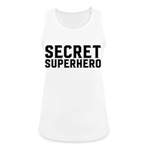 Secret Superhero - Women's Breathable Tank Top