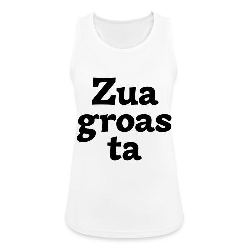 Zuagroasta - Frauen Tank Top atmungsaktiv