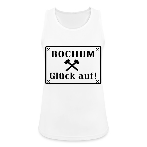Glück auf! Bochum - Frauen Tank Top atmungsaktiv