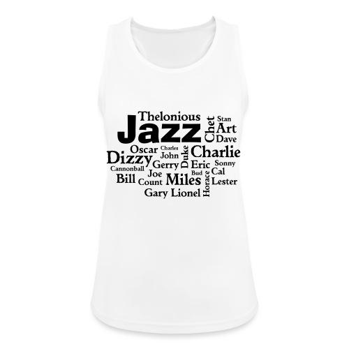 Jazz Greats - Frauen Tank Top atmungsaktiv