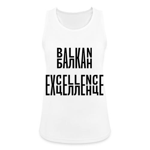 Balkan Excellence vert. - Women's Breathable Tank Top