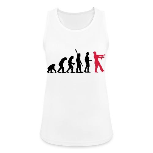 Zombie Evolution (zweifarbig) - Frauen Tank Top atmungsaktiv