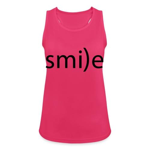 smile Emoticon lächeln lachen Optimist positiv yes - Women's Breathable Tank Top