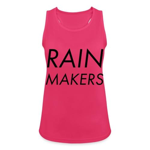 rainmakertext - Naisten tekninen tankkitoppi