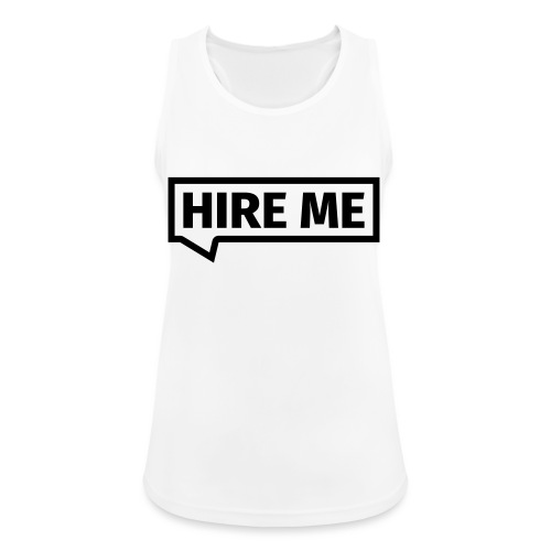 HIRE ME! (callout) - Women's Breathable Tank Top