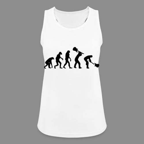 Evolution Rock - Camiseta de tirantes transpirable mujer