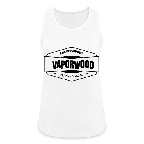VaporwoodLogo - Frauen Tank Top atmungsaktiv