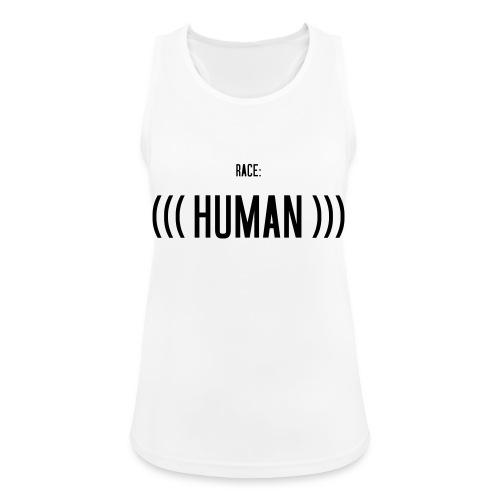 Race: (((Human))) - Frauen Tank Top atmungsaktiv