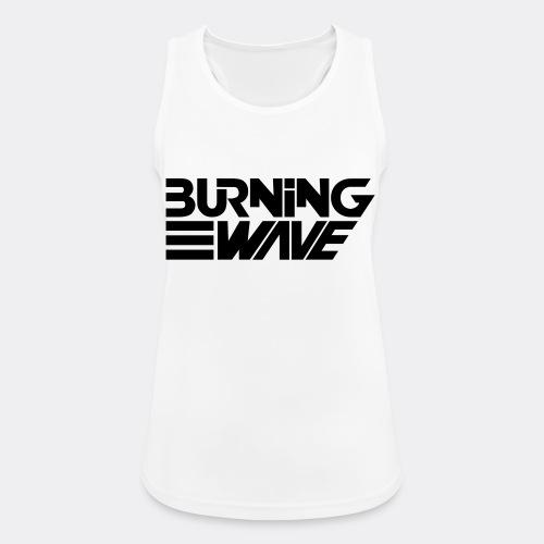 Burning Wave Block - Débardeur respirant Femme