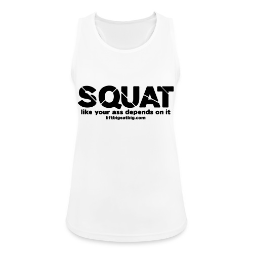 squat - Women's Breathable Tank Top