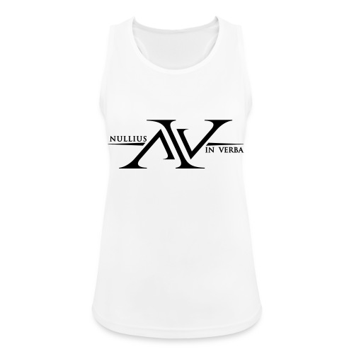 Nullius In Verba Logo - Women's Breathable Tank Top