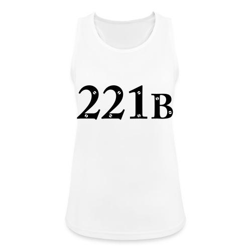 Sherlock Holmes - 221B - Frauen Tank Top atmungsaktiv