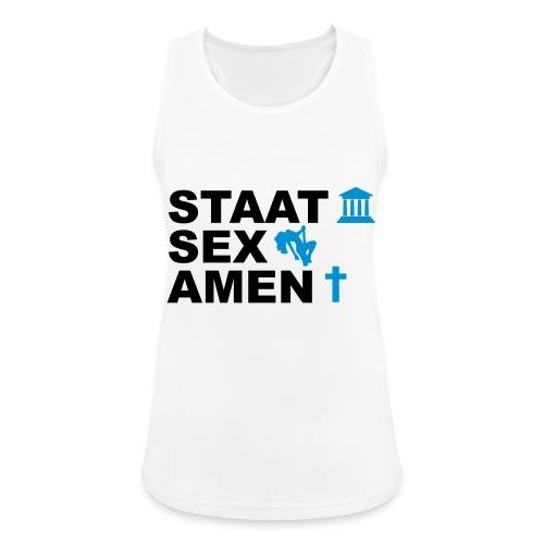 Staatsexamen / Staat Sex Amen - Frauen Tank Top atmungsaktiv
