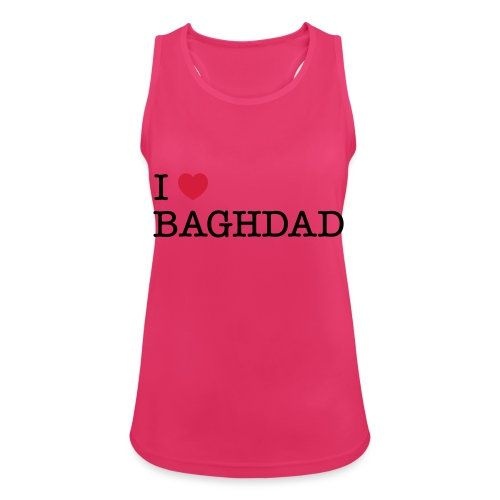 I LOVE BAGHDAD - Women's Breathable Tank Top