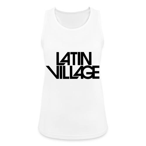 Logo Latin Village 30 - Vrouwen tanktop ademend