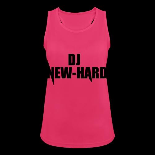 DJ NEW-HARD LOGO - Vrouwen tanktop ademend actief