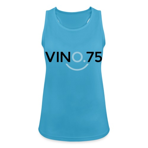 VINO75 - Top da donna traspirante
