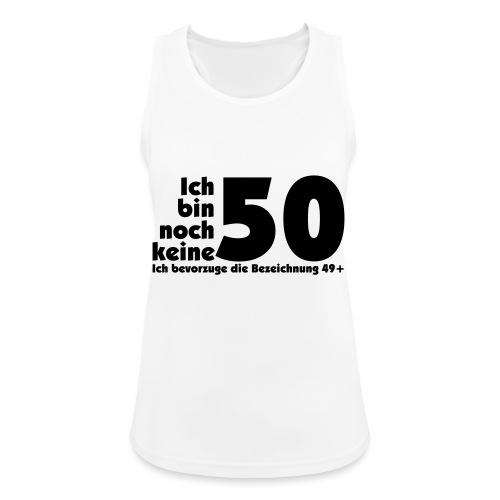 50 Jahre alt/jung - Frauen Tank Top atmungsaktiv