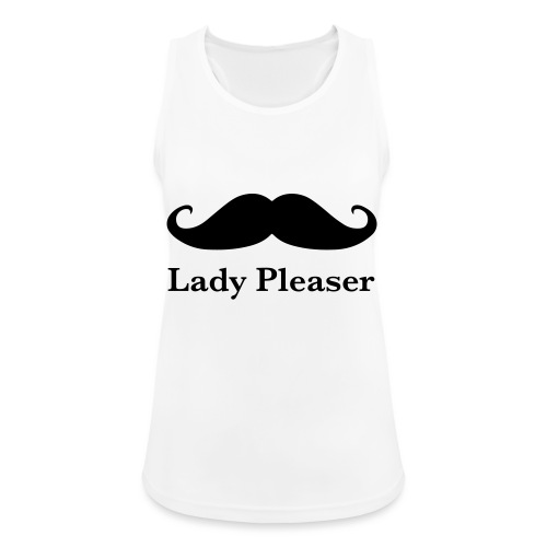 Lady Pleaser T-Shirt in Green - Women's Breathable Tank Top
