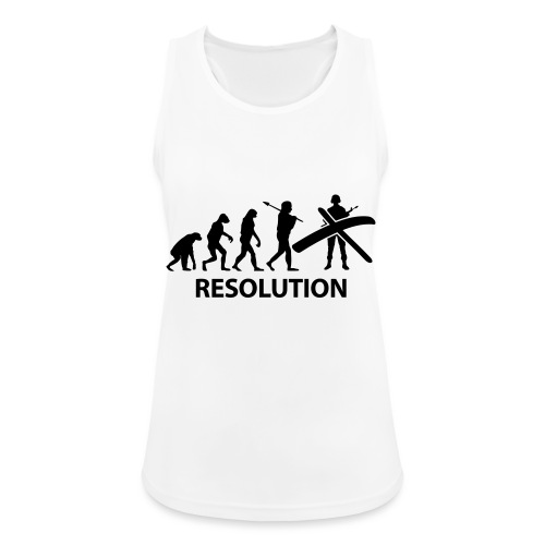 Resolution Evolution Army - Women's Breathable Tank Top