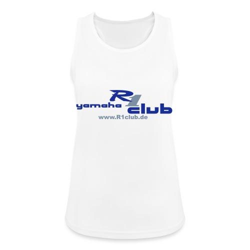 R1club Logo blau - Frauen Tank Top atmungsaktiv