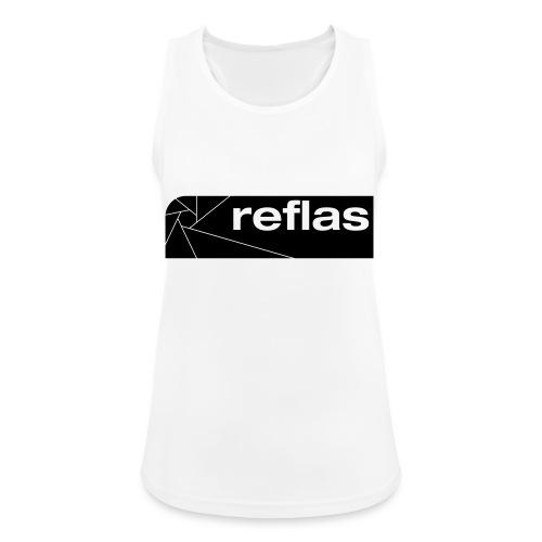 Reflas Clothing Black/Gray - Top da donna traspirante