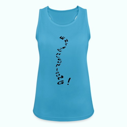 entschleunigung - Women's Breathable Tank Top