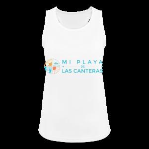 Mi playa de Las Canteras - Camiseta de tirantes transpirable mujer