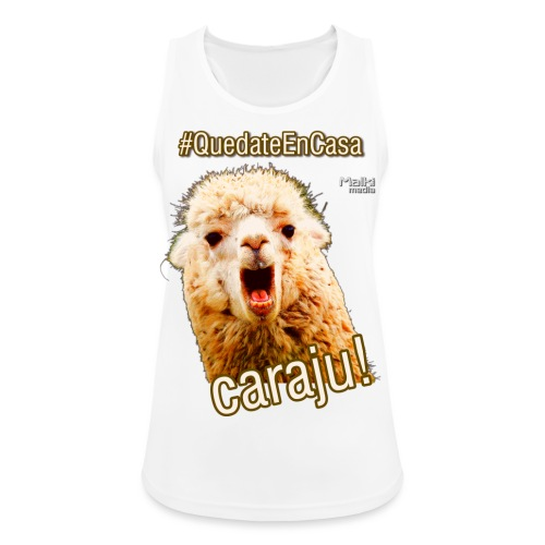 Quedate En Casa Caraju - Camiseta de tirantes transpirable mujer