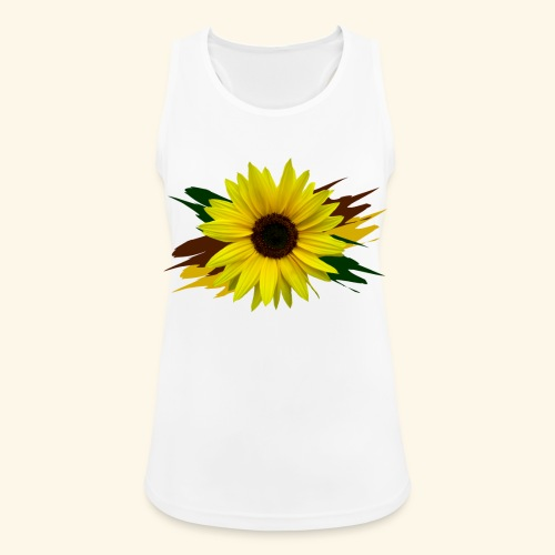 Sonnenblume, Sonnenblumen, Blume, floral, blumig - Frauen Tank Top atmungsaktiv
