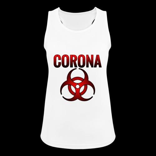 Corona Virus CORONA Pandemie - Frauen Tank Top atmungsaktiv