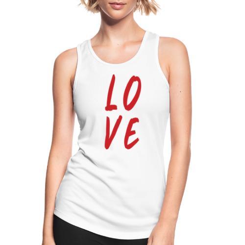 love - Top da donna traspirante