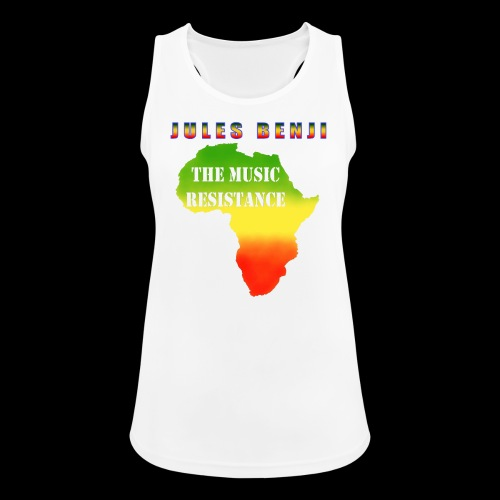 JULES BENJI & MUSIC RESISTANCE africa design - Women's Breathable Tank Top