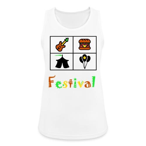 Festival Saison - Frauen Tank Top atmungsaktiv