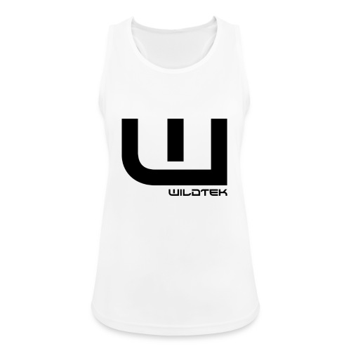 Wildtek Logo Black - Women's Breathable Tank Top