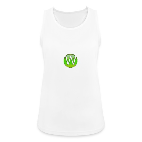 Alternate W1ll logo - Women's Breathable Tank Top