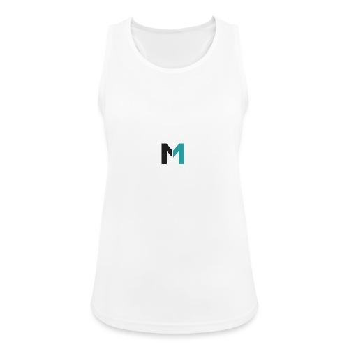 Logo M - Frauen Tank Top atmungsaktiv
