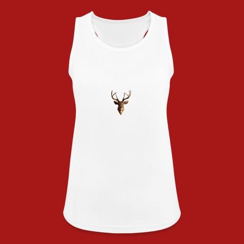 Deer-Head GOLD - Dame tanktop åndbar