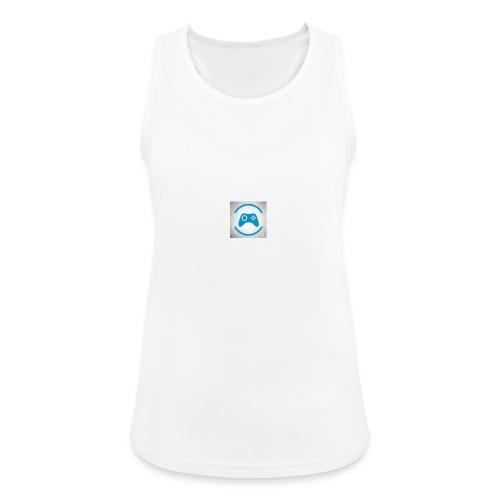 mijn logo - Vrouwen tanktop ademend