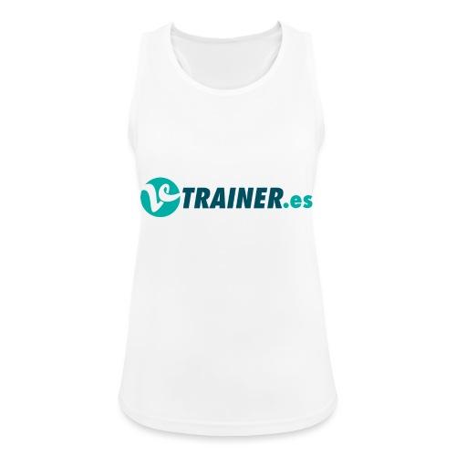 VTRAINER.es - Camiseta de tirantes transpirable mujer