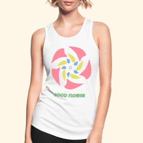 GOOD FLOWER - Camiseta de tirantes transpirable mujer